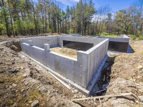 Foundations at Brockway's Adirndack Style Homes
